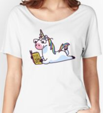 Unicorn Believe in Yourself Magically Fabulous II Women's Relaxed Fit T-Shirt