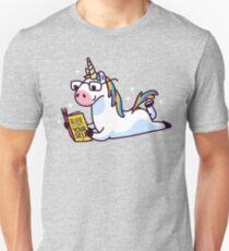 Unicorn Believe in Yourself Magically Fabulous II Slim Fit T-Shirt