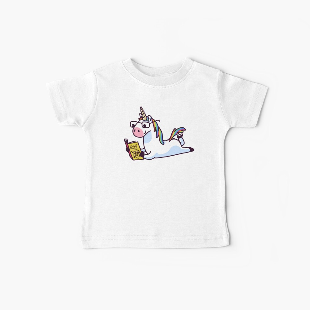Unicorn Believe in Yourself Magically Fabulous II Baby T-Shirt