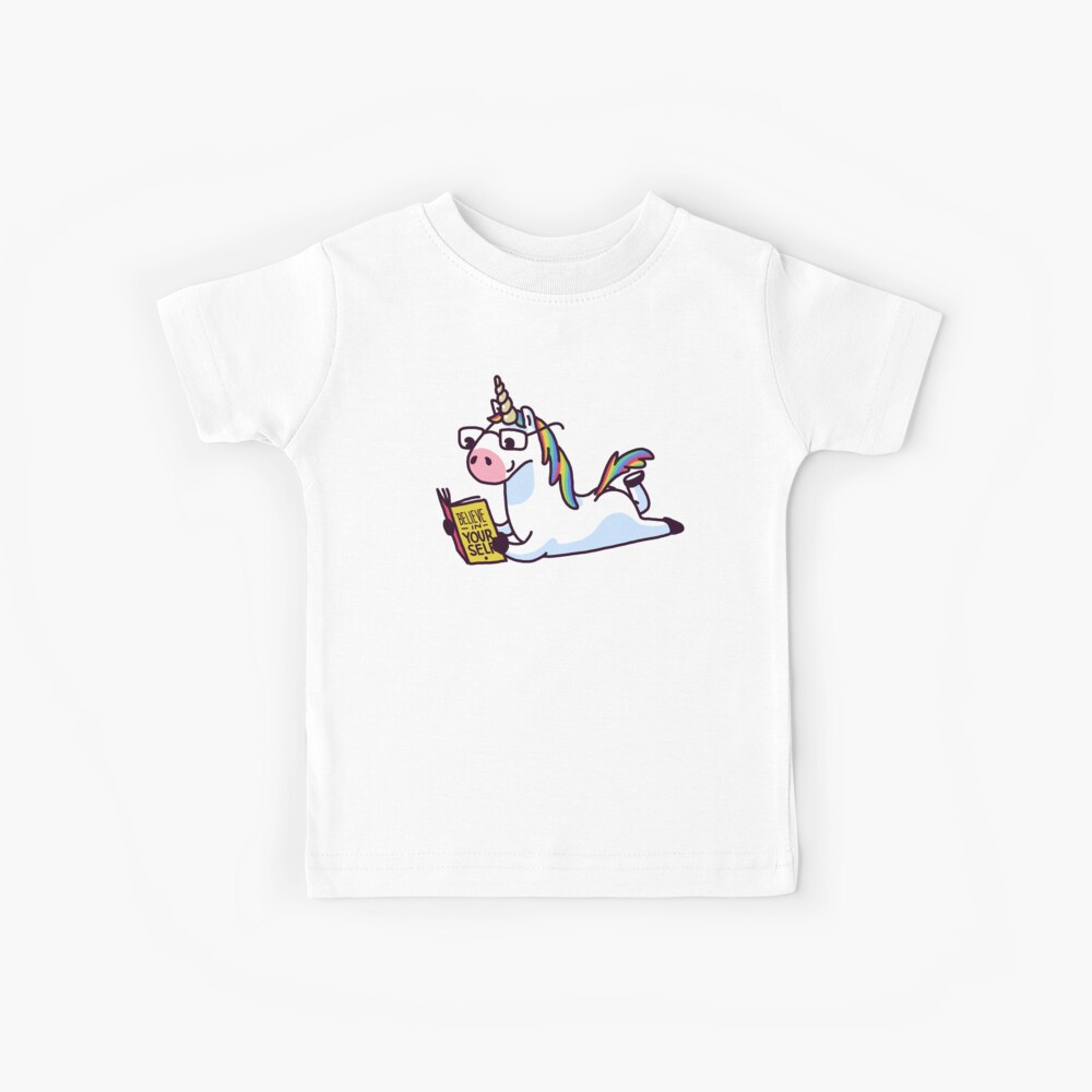 Unicorn Believe in Yourself Magically Fabulous II Kids T-Shirt