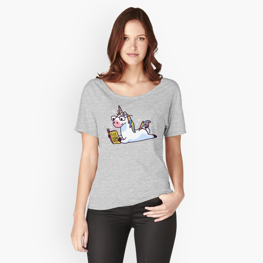 Einhorn glauben an sich magisch fabelhaft II Loose Fit T-Shirt