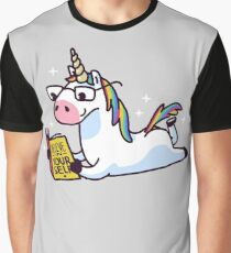 Unicorn Believe in Yourself Magically Fabulous II Graphic T-Shirt
