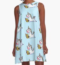 Einhorn glauben an sich magisch fabelhaft II A-Linien Kleid