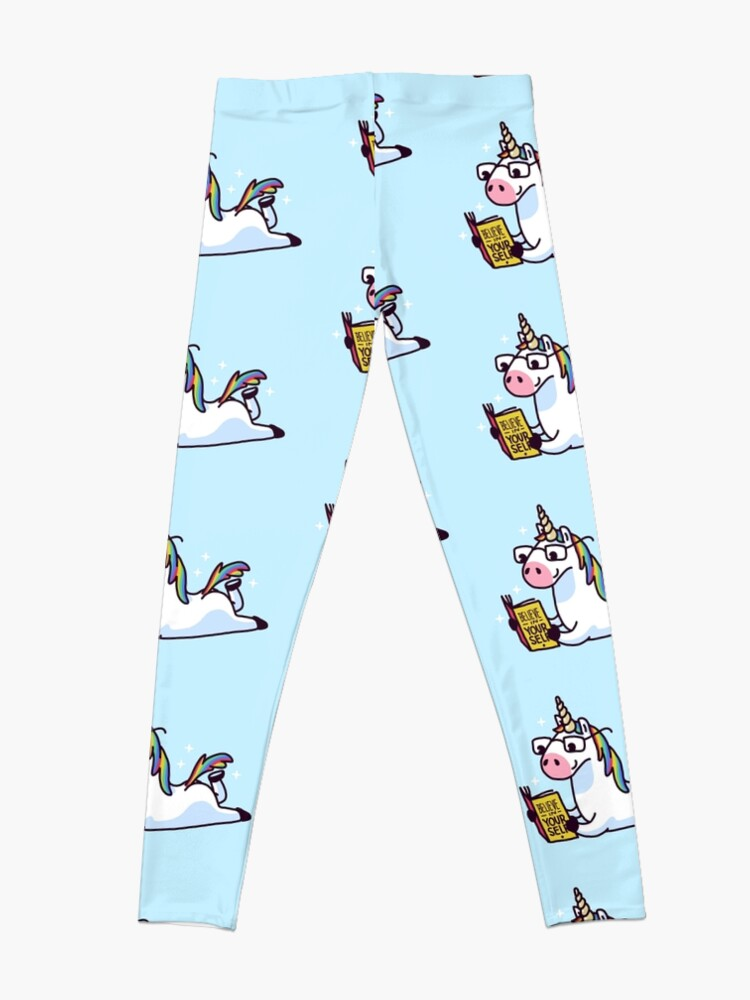 Alternate view of Unicorn Believe in Yourself Magically Fabulous II Leggings
