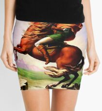 Zelda & Epona  Mini Skirt