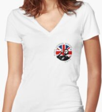 Counter Strike Global Offensive - Pasha London School (Small) Women's Fitted V-Neck T-Shirt