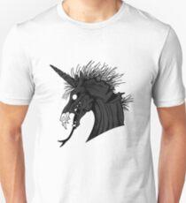 Black Demon Unicorn Unisex T-Shirt