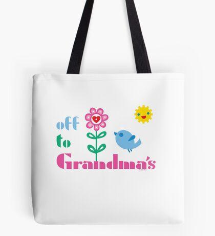 Off To Grandma's Tote Bag