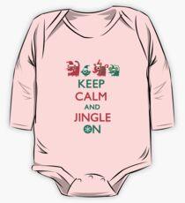 Keep Calm and Jingle On One Piece - Long Sleeve
