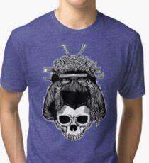 Skull Geisha Tri-blend T-Shirt
