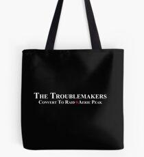White team logo for darker things Tote Bag