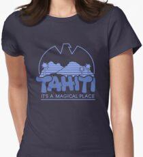 Magical Tahiti Womens Fitted T-Shirt