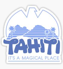 Magical Tahiti Sticker