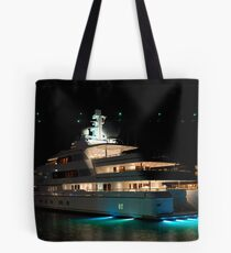 Apoise Dockside @ The Hyatt Night Shot Tote Bag