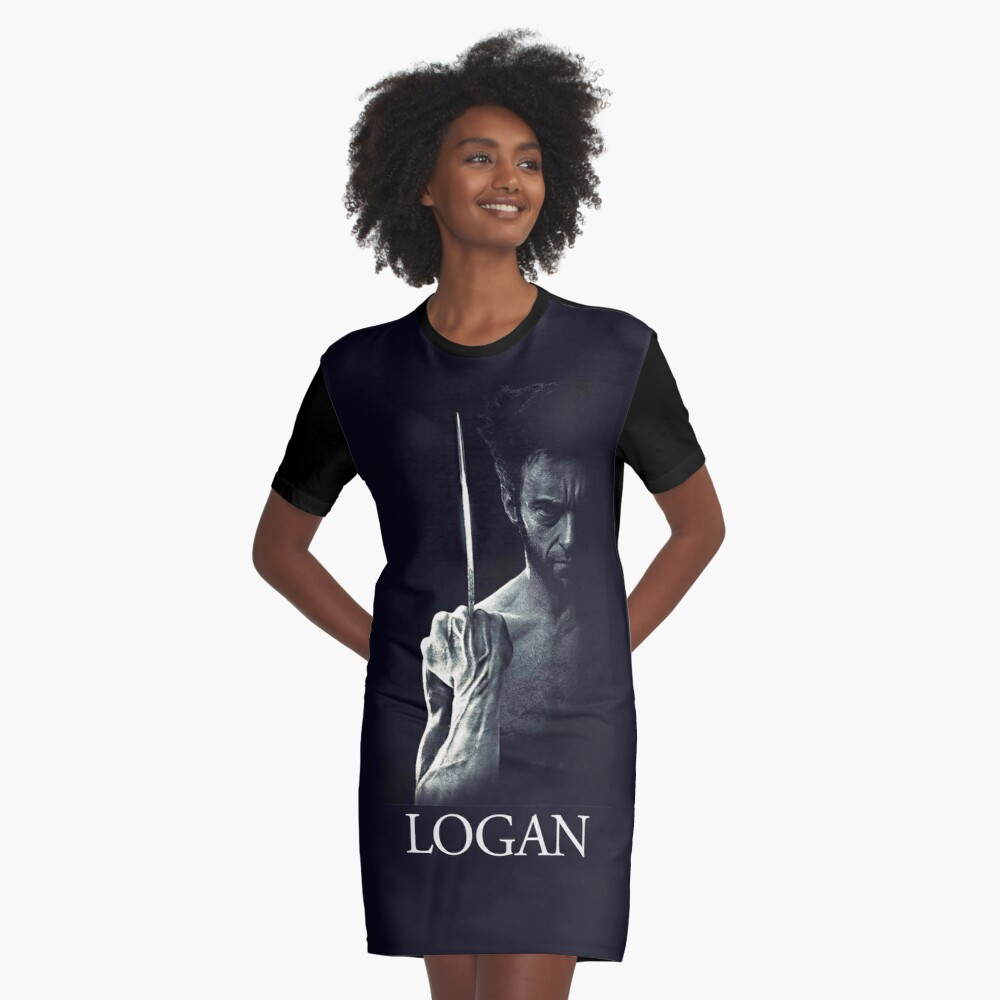 Logan Graphic T-Shirt Dress