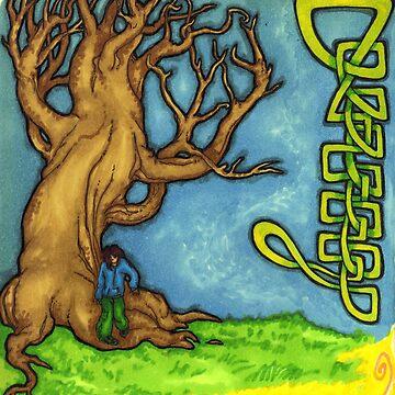 Tree & Knot (none repeat) by wingsofjudas
