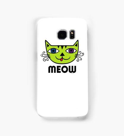 Meow Cat multi Samsung Galaxy Case/Skin