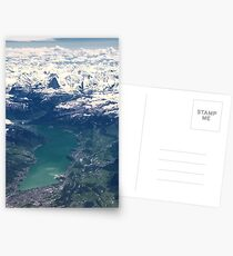 The North Face and Lake Thun Postcards