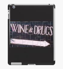 PekeBoom - Wine & Drugs - DroolingWithSanity iPad Case/Skin