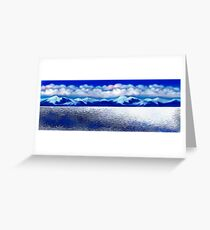 Antarctic . Greeting Card