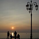 lazise in the sunset (lake garda/italy) by srphotos