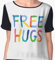 Free Hugs  Chiffon Top