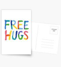 Free Hugs  Postcards