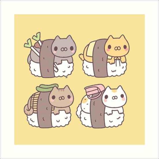 Sushi-Katzen von BelindaFRS