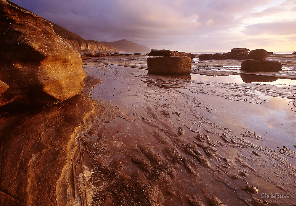 Clearing at Dawn, Coalcliff Beach by ChrisRoss