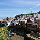Staithes by John (Mike)  Dobson