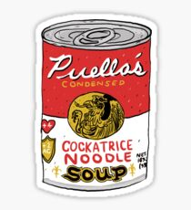 Cockatrice Noodle Soup Sticker