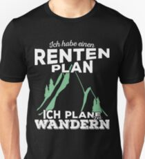 Rentenplan - Wandern T-Shirt