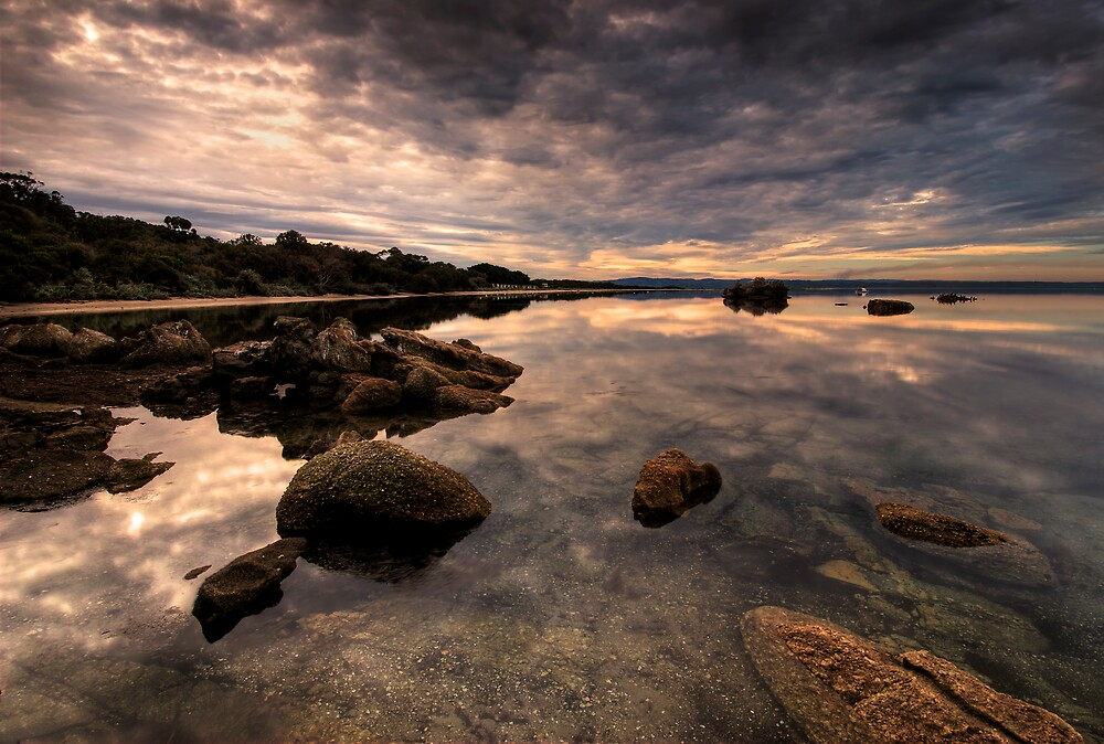 Still'n'Serene Duck Point Eve by Robert Mullner