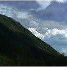 Clouds Over Webster Cliffs by Wayne King
