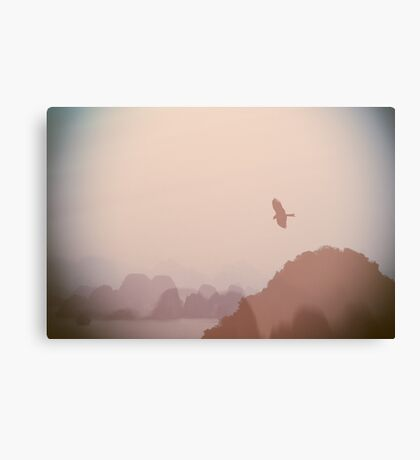 In Flight over Halong Bay Canvas Print