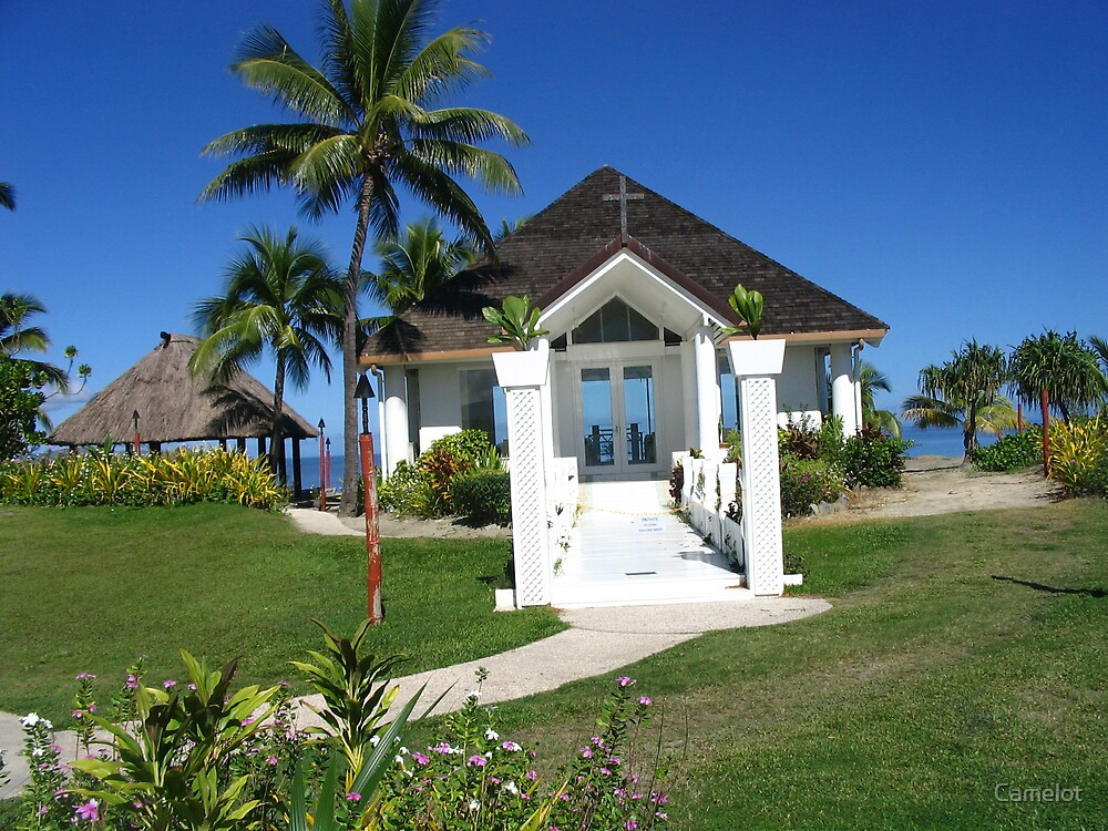 Naviti Resort Wedding Chapel second view by Camelot