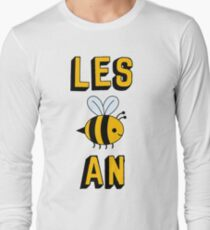 LES BEE AN LESBIAN Long Sleeve T-Shirt