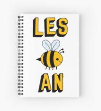 LES BEE AN LESBIAN Spiral Notebook