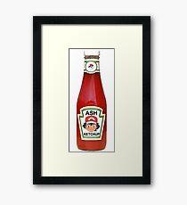 Ash Ketchup Framed Print