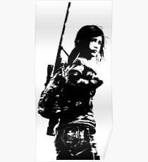 Weathered Ellie The Last Of Us Poster