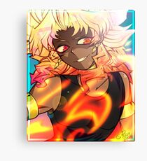 YGO - Feel The Fire Canvas Print