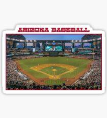 Arizona Baseball Sticker
