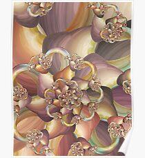 Quiescence Floral Fractal Poster