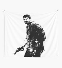 Weathered Joel The Last Of Us Wall Tapestry