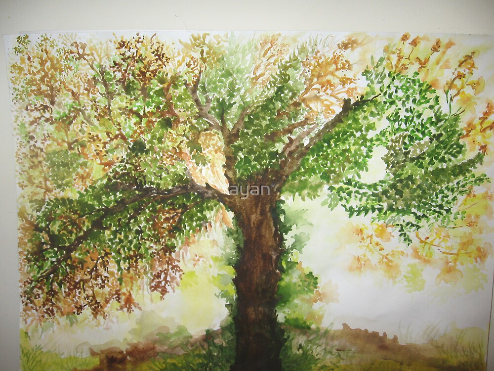 spring Size29x42 cm by ayan