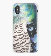 Iridescent Blue Peacock Pheasant  iPhone Case/Skin