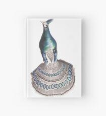Iridescent Blue Peacock Pheasant  Hardcover Journal