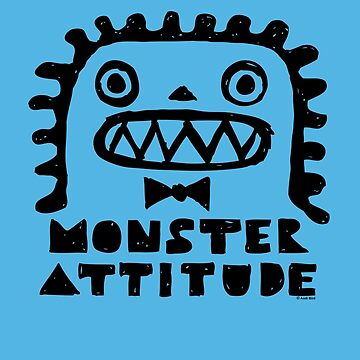 Monster Attitude by andibird