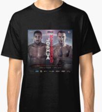 ANTHONY JOSHUA VS WLADIMIR KLITSCHKO OFFICIAL POSTER Classic T-Shirt