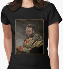 Soft Prince Regent, Travis Mcelroy Womens Fitted T-Shirt